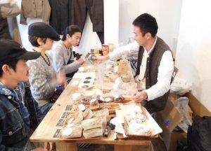 玄米茶のワークショップ